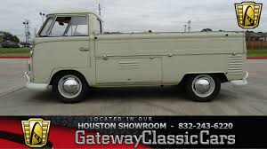 1963 Volkswagen Type 2 Single Cab Pickup Gateway Classic Cars #648 ...
