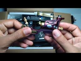 unboxing Dragonhawk <b>Complete Tattoo Kit</b> 2 Pro Machines Rotary ...