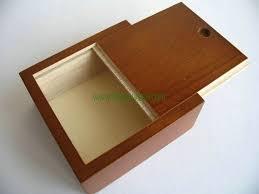 wooden boxes slide lid