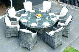 fine 6 person round outdoor dining table 6 person patio table 8 person outdoor dining table