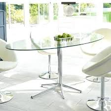 glass base dining table stellar base glass dining table clear round glass top wooden base dining
