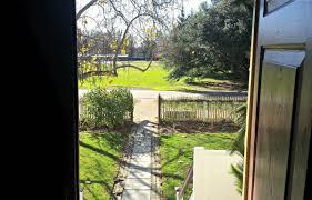 looking out front door. Looking Out Of Front Door, At The St. George Tucker House Door