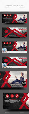 corporate facebook covers template psd here graphicriver net