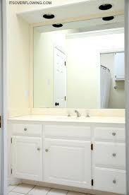 trim around bathroom mirror. Trim Bathroom Mirror Trimming 3 Wood Around .