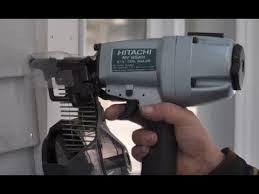 hitachi siding nailer. 2-1/2-inch coil siding nailer - hitachi nv65ah