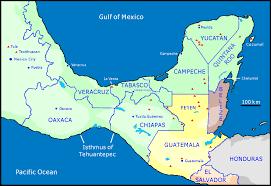 history of the ancient maya Mayan Cities Map pre classic period, 2000 bc 250 ad mayan city map