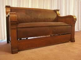 antique kroehler duofold sofa bed