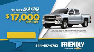 Friendly Chevrolet - Trade-in, Trade up! - 2018 Silverado (Spanish)