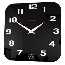 Kitchen Wall Clocks Modern Gloss White Red Black Silver Modern Kitchen Retro Wall Clock Uk