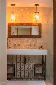 bathroom vanity pendant lighting. Bathroom Vanity Barnwood Mirror Oyster Pendant Lights - R Mended Metals, LLC Lighting E