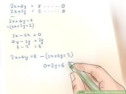 image titled solve systems of equations step 2