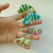 Crochet Chameleon Pattern
