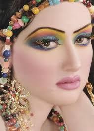 bridal makeup beautiful arabic eye makeup