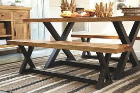 Dining room table bench Rectangle Wesling Dining Room Bench Large Ashley Furniture Homestore Wesling Dining Room Bench Ashley Furniture Homestore