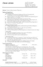 Qa Tester Resume Samples Tester Entry Level Tester Resume Sample ...