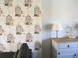 vintage birdcage wallpaper ...
