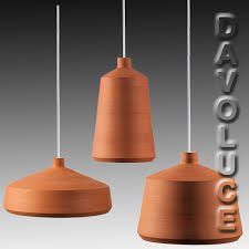 flame spanish handmade pendant lights clay pendant lights by pott from davoluce lighting terracotta