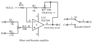 videoke machine schematic diagram videoke image simple karaoke circuit general household tutorials on videoke machine schematic diagram