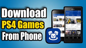 Download PS4 Games from Android Phone ...