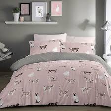 care duvet cover bedding set blush
