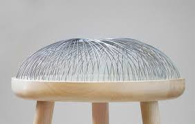 dome furniture. Dome - Stool By Toer With A Steel Cushion! #furniture #materials Furniture