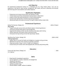 Trainer Resume Sample Best Invoice Template