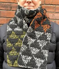 Mens Scarf Crochet Pattern Awesome Mens Scarf CROCHET PATTERN Mens Crochet Scarf Pattern Etsy