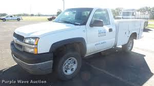 2003 Chevrolet Silverado 2500 utility bed pickup truck | Ite...