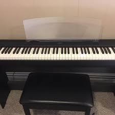 yamaha 88 key digital piano. yamaha p85 barely used 88 key digital piano a