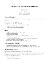Resume Job Duties Examples Administrative Assistant Sample Resume Administrative Assistant 60