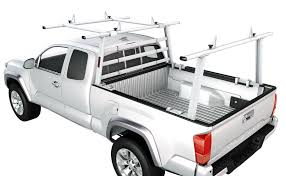 Aluminum Headache Rack Pickup Truck Rack w/Cantilever Back Racks ...