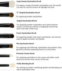 eye makeup brushes and their uses. eyeshadow brushes: when it comes to eye brushes the amount of different bristles, shapes makeup and their uses u