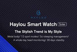 <b>Haylou Solar</b>-<b>SmartWatch</b>-DongguanLieshengElectronicCo.,Ltd.