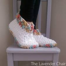 Bernat Crochet Patterns Enchanting Cloud 48 Slippers Crochet Pattern The Lavender Chair