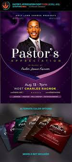Lavender Pastor's Appreciation Church Flyer | Pinterest | Flyer ...