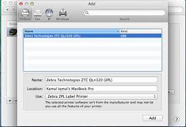 2k=windows 2000, 2k3= windows 2003 , xp= windows xp , vista = windows vista , win7 = windows 7,win10 download. Install Cups Driver For Zebra Printer In Mac Os
