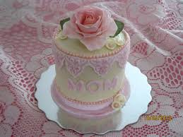 Mini Mothers Day Cake White Cake With Vanilla Butter Cream Icing And