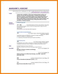 Cv Profile Examples Free Doc 12401754 Example Resume Personal