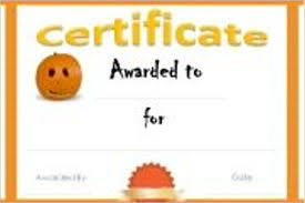 Costume Contest Certificate Template 18 Halloween Certificate Templates Free Printable Word Designs