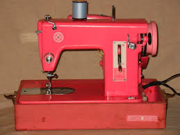 Vintage Pink Sewing Machine