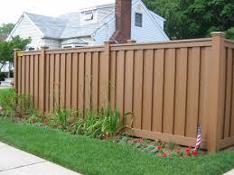 ANTI UV Outdoor wood plastic composite garden fence