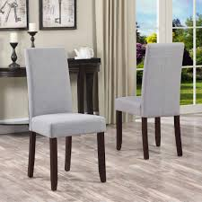 full size of furniture home simpli acadian parson dining chair set of com marvelous parsons