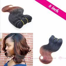 Ombre Weave Color Chart 8 Inch Human Weave Hair Extensions With Ombre Colors