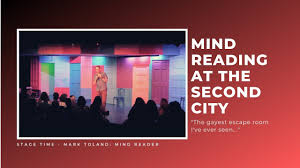 Second City Sign Design Reading Minds At Second City Mark Toland Comedy Mind Reading