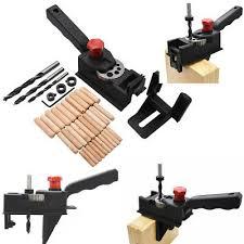 <b>38pcs</b> DIY <b>Woodworking Locator</b> Pocket Hole Cutter <b>Drill</b> Guide ...