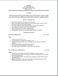 Examples Of Resumes For Cashiers Resume Samples For Cashier Cashier