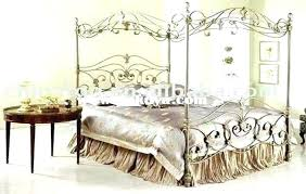 wrought iron king bed. Wrought Iron Bedroom Sets Rod King Bed Set Designs Categories Astounding