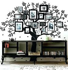 family tree frame set picture photo collage uk wall anniversary family tree frame