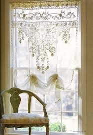 vintage lace curtain panels phenomenal the most 174 best lovely images on antique home ideas