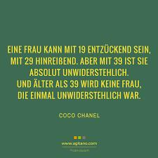 Coco Chanel Eine Frau Kann Mit 19 Entzückend Sein Agitano